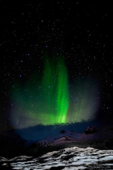 Aurora boreale islanda meridionale