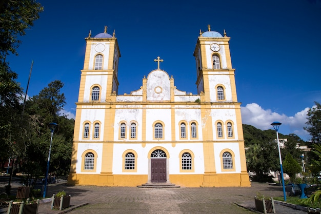 Chiesa di nossa senhora da graca a sao francisco do sul. santa catarina.