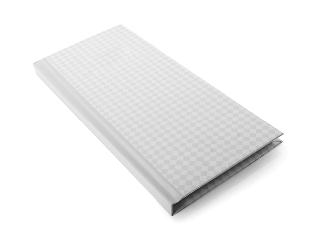 Notebook isolati su sfondo bianco.