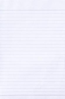 Priorità bassa di struttura di carta a righe di quaderno