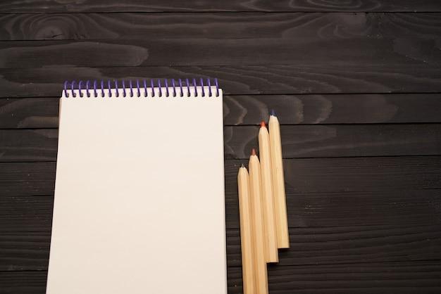 Matite per notebook strumenti da tavolo in legno per artisti