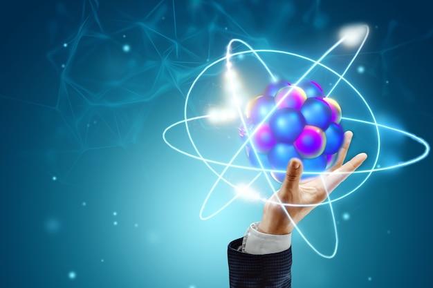 Concetto di fusione nucleare, energia infinita, elettricità a basso costo, tecnologie future.