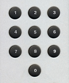 Tastierino numerico tasti