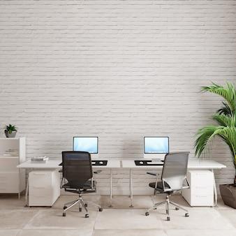Interiore dell'ufficio con sedie