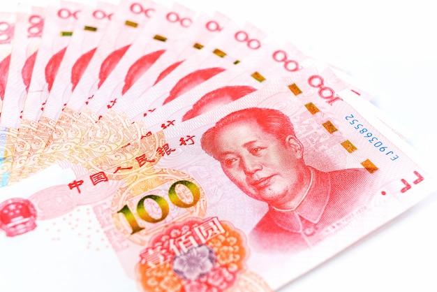Valuta ufficiale della cina. renminbi, abbreviazione rmb. soldi cinesi.