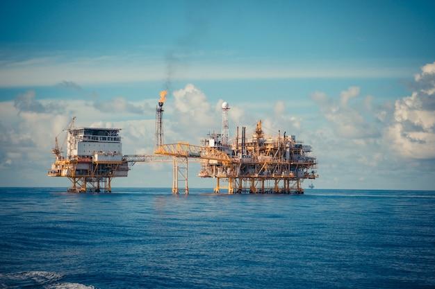 Oleodotto per la produzione di petrolio e gas dell'industria offshore
