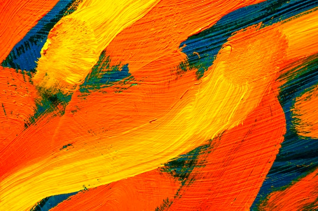 La texture colorata pittura ad olio su tela. sfondo di arte astratta. pennellate ruvide di vernice. può essere utilizzato come sfondo.