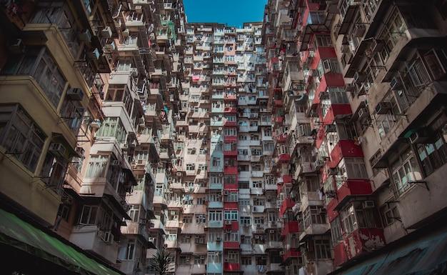 Vecchio appartamento a hong kong
