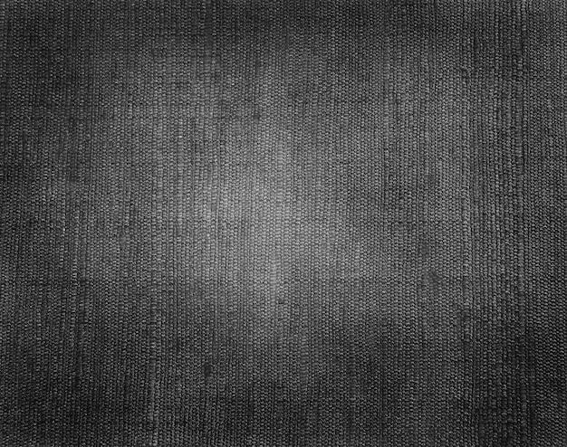 Vecchia trama del tessuto nero
