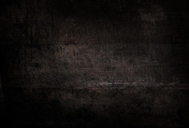 Vecchio fondo di parete di legno della plancia nera