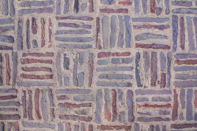 Vecchio fondo di struttura del pavimento in mattoni