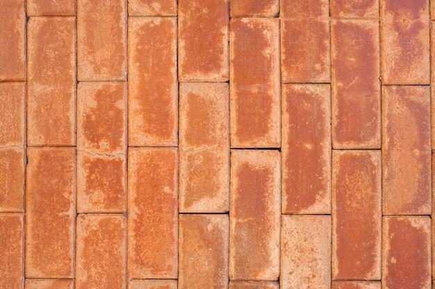 Vecchia superficie di mattoni per lo sfondo