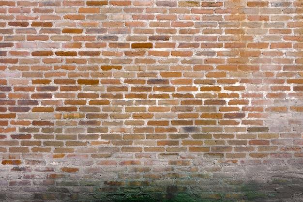 Vecchio muro di mattoni sfondo grunge, stile vintage