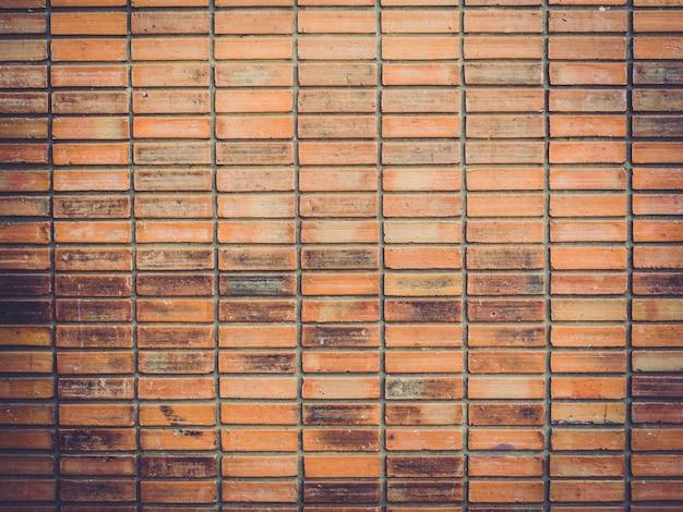 Vecchia struttura e priorità bassa del muro di mattoni