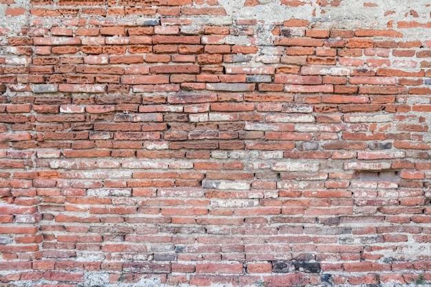 Vecchio fondo di struttura del muro di mattoni.