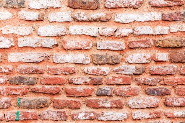 Vecchio fondo di struttura del muro di mattoni