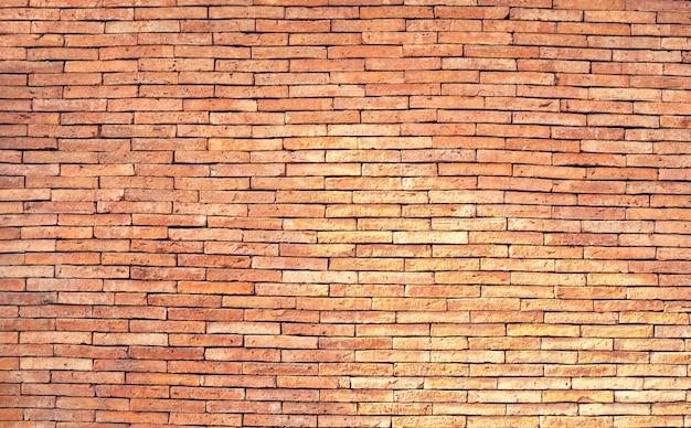 Vecchio fondo marrone di struttura del muro di mattoni