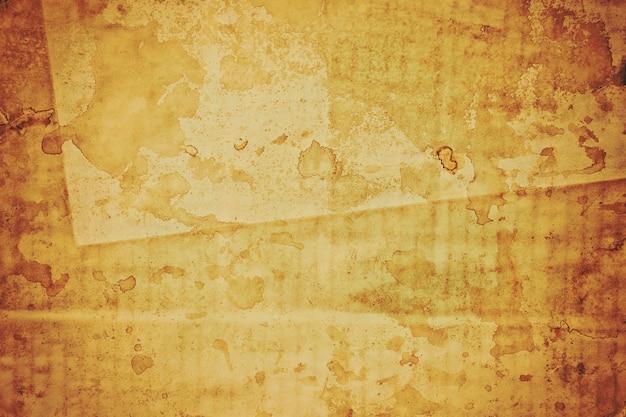Vecchio foglio di carta marrone sfondo texture di carta bruciata, le trame di carta sono perfette per la tua carta creativa