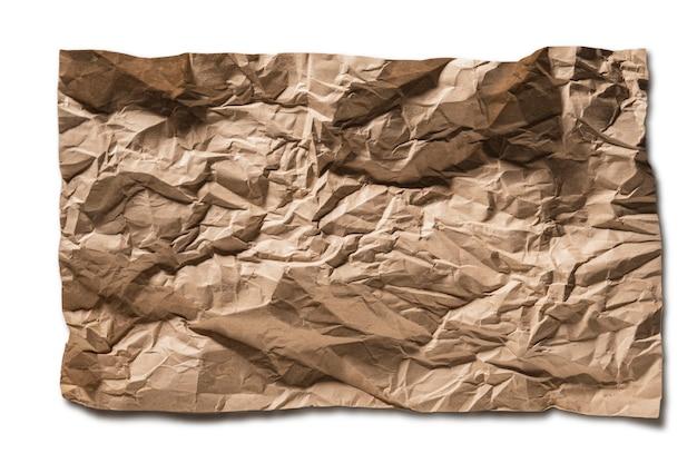Vecchio foglio di carta di sfondo trama di carta marrone, le trame di carta sono perfette per il tuo sfondo di carta creativo.