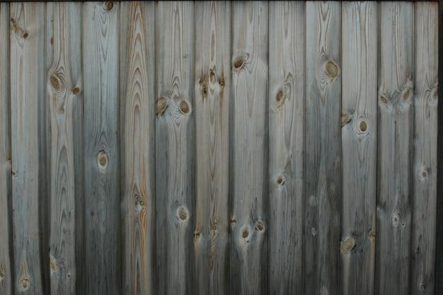 Vecchio fondo di legno marrone fatto di legno naturale scuro nello stile del grunge.