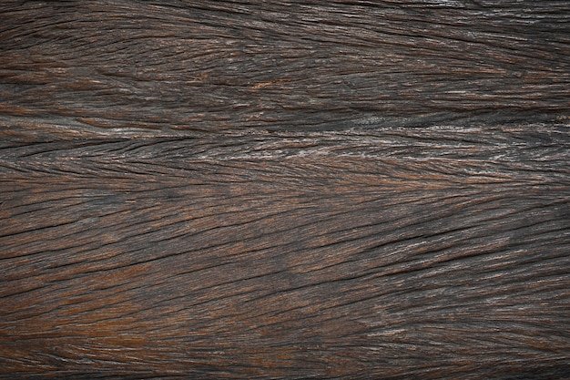 Vecchia struttura in legno marrone. sfondo orizzontale