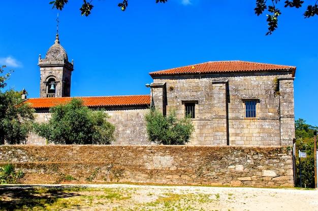 Vecchia cappella santa susana, santiago de compostela, spain