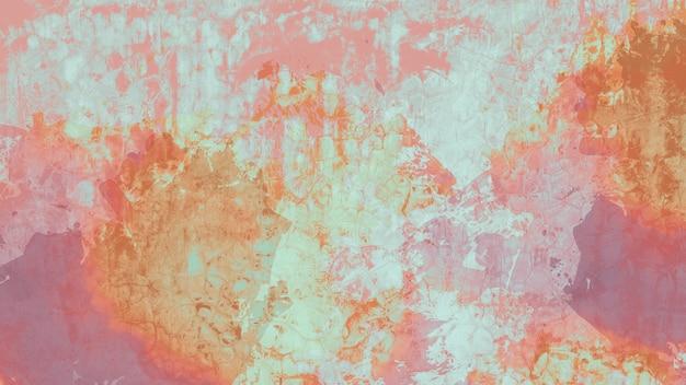 Vecchio muro di cemento colorato