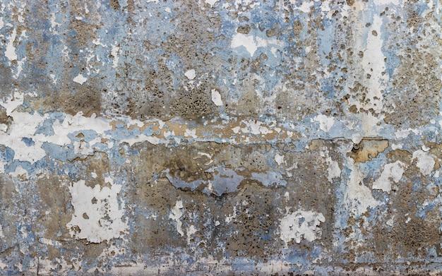 Vecchio fondo di struttura del muro di cemento