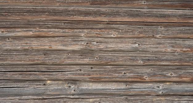Vecchio fondo di legno strutturato scuro, superficie di vecchia struttura di legno marrone, vista dall'alto, copia dello spazio