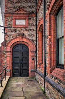 Vecchia porta del regno unito
