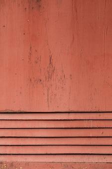 Vecchio fondo dipinto polveroso di struttura del metallo della feritoia