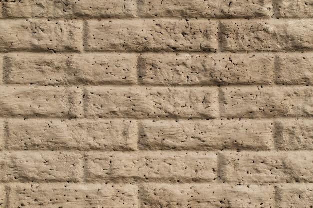 Vecchio fondo d'annata polveroso di struttura del muro di mattoni