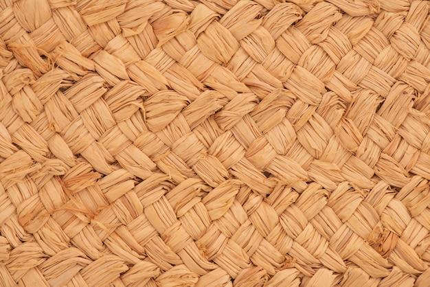 Vecchia struttura di legno di eichhornia crassipes e fondo del modello.