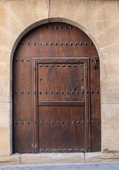Vecchia porta d'ingresso alla chiesa