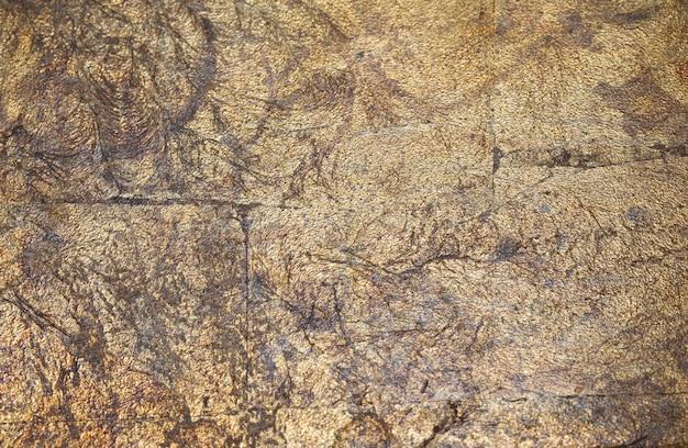 Vecchio sfondo antico in metallo dorato