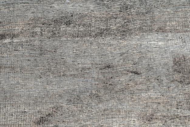 Vecchi parete, fondo e struttura di legno grigi, fine su