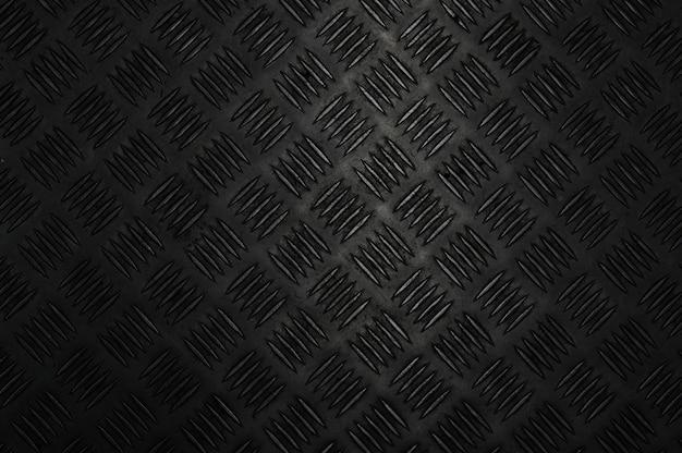 Vecchio fondo di piastre d'acciaio a scacchi grunge