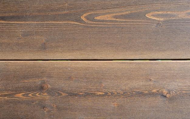 Vecchio fondo di legno strutturato scuro di lerciume, la superficie della vecchia struttura di legno marrone, pannelli di legno marrone di vista superiore, struttura di legno vecchio e rustico con motivo naturale per il design interno e lo sfondo