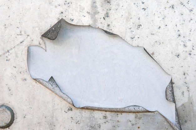 I vecchi manifesti di lerciume incartano il fondo di superficie di struttura