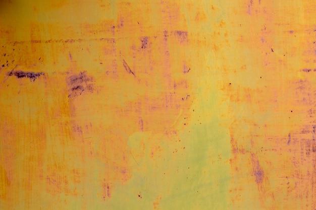 Vecchia superficie di metallo arrugginito multicolore sfondo vintage grunge