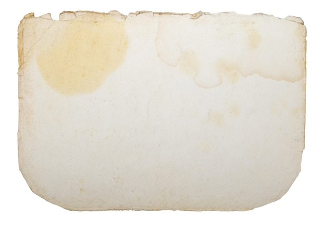 Vecchia carta con spazio per testo o immagine