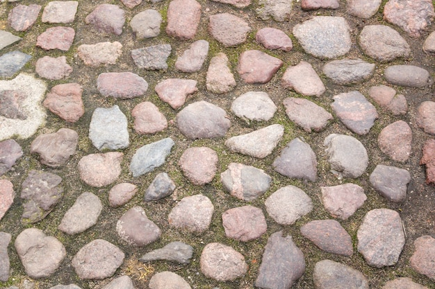 Vecchia priorità bassa delle pietre per lastricati