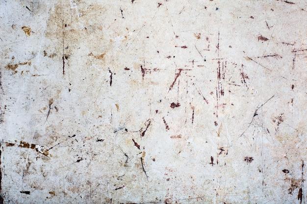 Vecchio sfondo in compensato con polvere e graffi