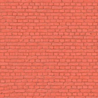 Sfondo vecchio muro di mattoni rossi