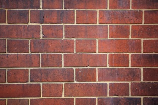 Vecchio fondo di struttura del muro di mattoni rossi.