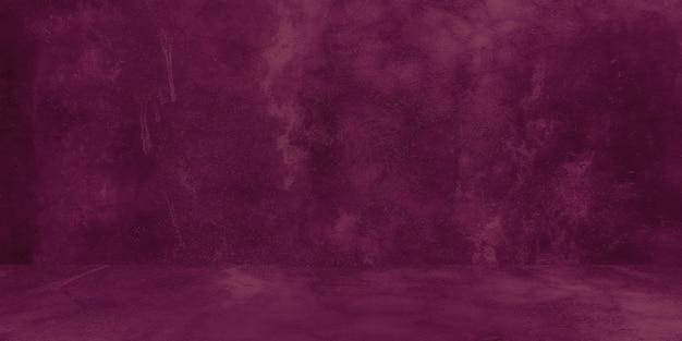 Vecchia struttura squallida del muro di cemento con il fondo astratto del grunge della parete dello studio di cemento viola incrinato...