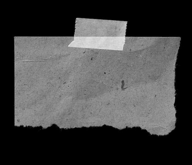Vecchia carta strappata con nastro adesivo