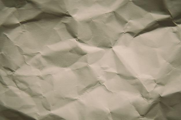 Sfondo vintage e vecchio di texture di carta stropicciata e spazio libero per il testo.