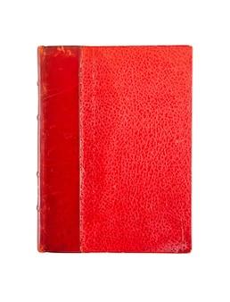 Vecchio libro vintage isolato su sfondo bianco