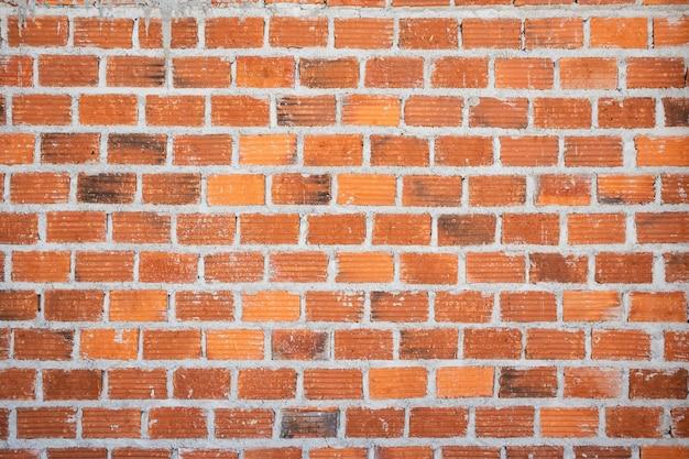 Vecchia priorità bassa di struttura del muro di mattoni rossi dell'annata